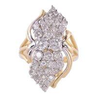 4.06 CTW Diamond Cocktail Ring