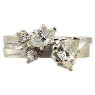 1.13 CTW Diamond Wedding Set