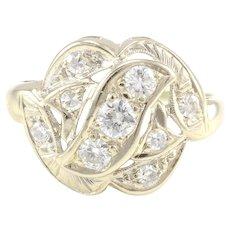 0.55 Carat Total Weight Diamond Ring