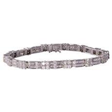5.40 CTW VS Diamond Bracelet