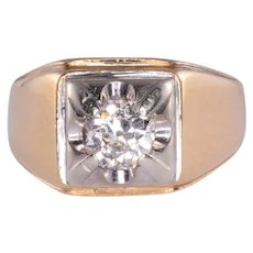 .95 Carat Diamond Mens Ring