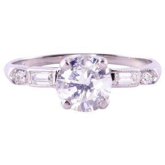 .95 Carat Center Diamond Engagement Ring