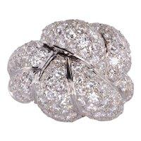 9.87 CTW Diamond 18K Cocktail Ring