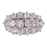 Diamond Cluster 18K Ring