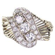 1.2 CTW VS Diamond Platinum Fashion Ring
