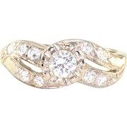 0.20 Carat Center Diamond Engagement Ring