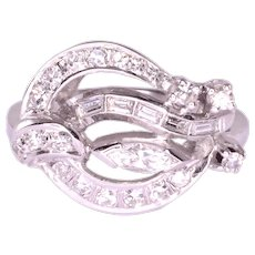 0.63 CTW Diamond Cocktail Ring