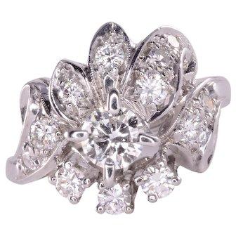 .66 Carat Total Weight Diamond Ring