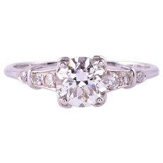.90 Carat VS Center Diamond 18KW Engagement Ring