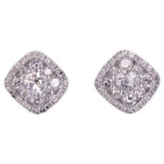 1.34 CTW Diamond Earrings