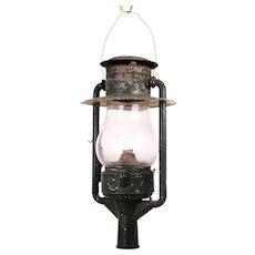 Dietz Original New York City Oil Street Lamp