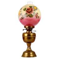 John Scott Hand Painted Oil Lamp