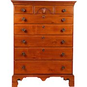 American Pennsylvania Cherry Chippendale Chest