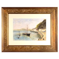 James Howard Baker Maritime Scene