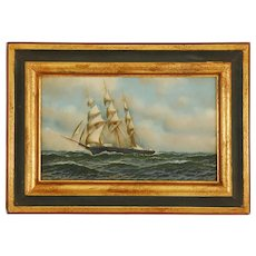 Maritime Oil on Board by Antonio Jacobsen