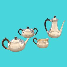 Four Piece Coffee and Tea Service by Tiffany & Co.