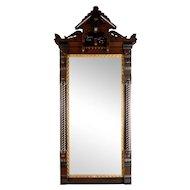 Eastlake Gilt Rectangular Wall Mirror