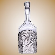 German Repousse Decanter
