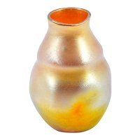 American Art Glass Vase by Tiffany Studios LCT