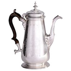 George II Sterling Silver Coffee Pot