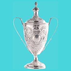 George III John Edwards Sterling Loving Cup