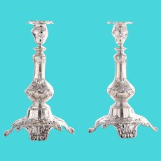 Gorham Pair Sterling Silver Candlesticks