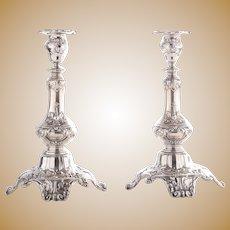 Gorham Pair Sterling Silver Candlesticks