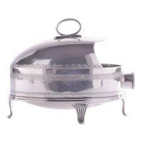 Welker & Hall Sheffield Plate Spoon Warmer