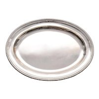Paul Storr Sterling Silver Meat Platter