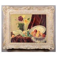 Van Steep Still Life Painting