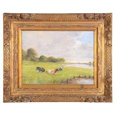 Danish Pastoral Scene Painting