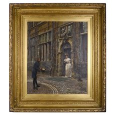 William Logsdail Architectural Oil Painting