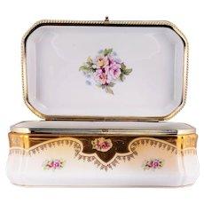 RS Prussia Porcelain Dresser Box