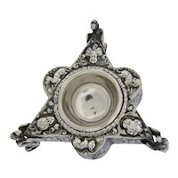 Ornate 800 Silver Salt