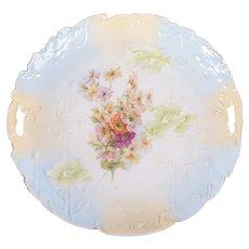 R S Prussia Erdmann Schlegelmilch Cake Plate