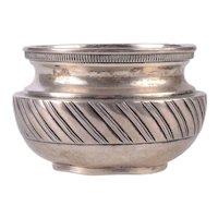 Assayar Yakov Lyapimov Sterling Silver Salt