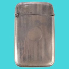 Henry Williamson Sterling Silver Card Case