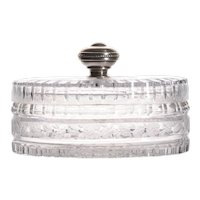 Spanish Cut Crystal Dresser Box
