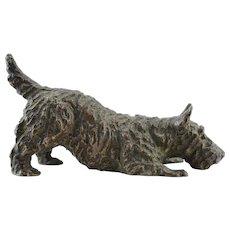Marguerite Kirmse Bronze Sculpture Miniature Scottish Terrier