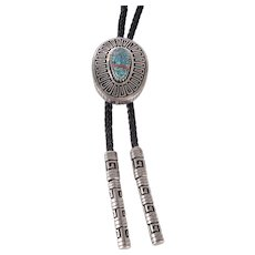 Vernon Haskie Sterling Silver Bolo Tie