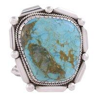 Pilot Mountain Turquoise Cuff Bracelet