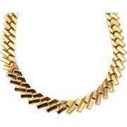Italian 14 Karat Gold Link Necklace
