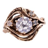 1.42 Carat VS2 Center Diamond Ring