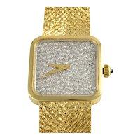 Swiss 1.14 CTW Diamond Wrist Watch by W. Pollak and H. & W. Ullmann