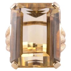 48.46 Carat Citrine Ring