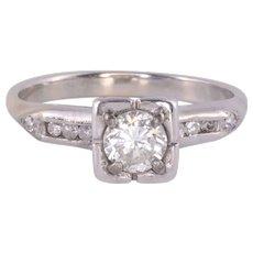 VVS1 Diamond Engagement Ring - Size 5.75
