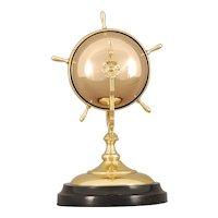 Rare Rotating Ships Wheel Hotel Bell