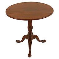 English Walnut Tripod Leg Table with Tilt Top