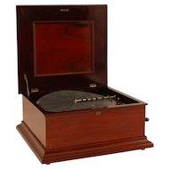 New Century Double Comb 18″ Disc Music Box