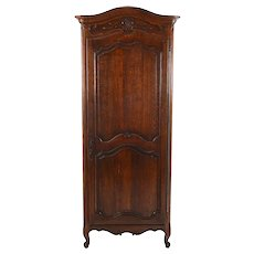 French Provincial Oak Wardrobe